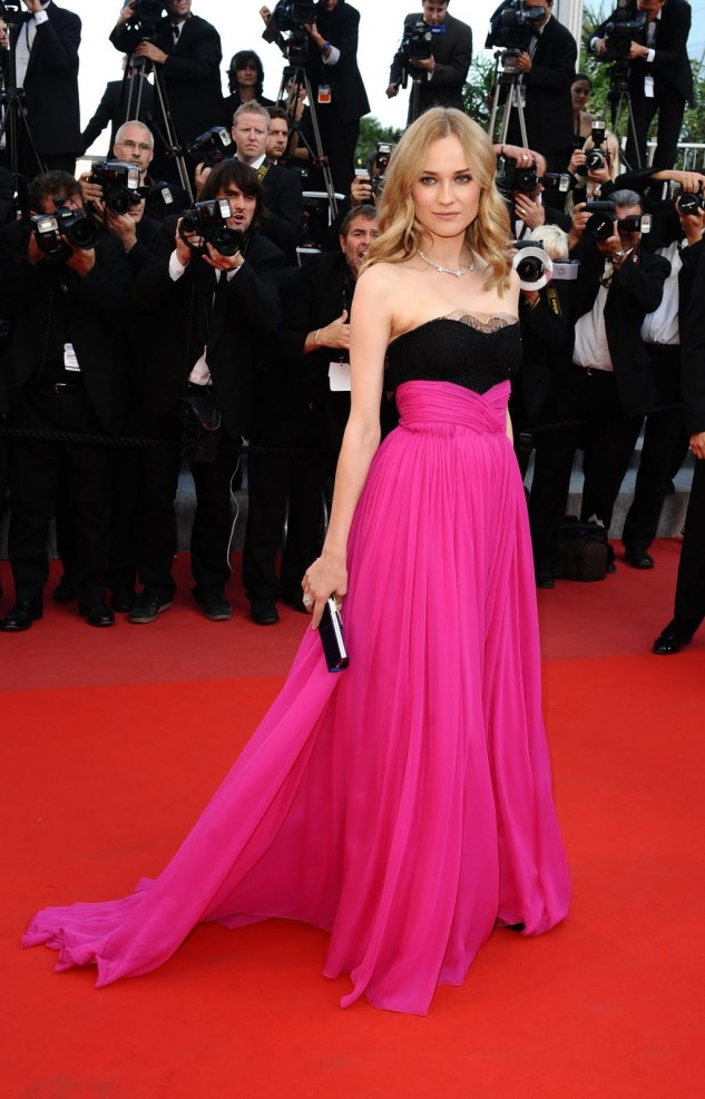 Diane-Kruger-Red-Carpet-Evening-Dress