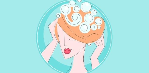 ilustracao-mulher-lavando-os-cabelos