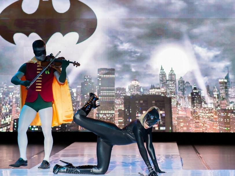 Foto Edu Freire -Desfile Moda Noivo, temático dos vilões do Batman (3)