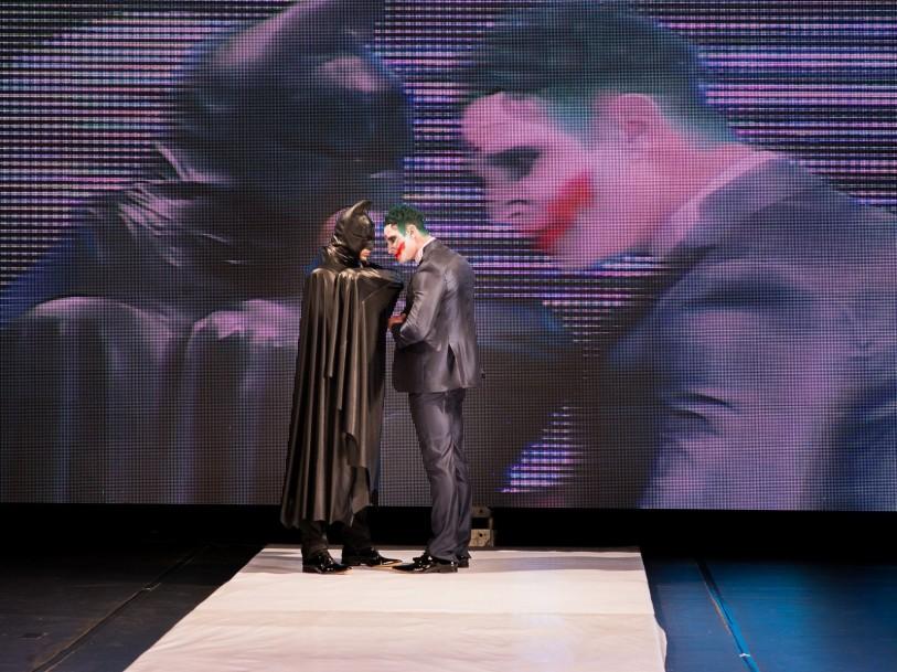 Foto Edu Freire -Desfile Moda Noivo, temático dos vilões do Batman (7)