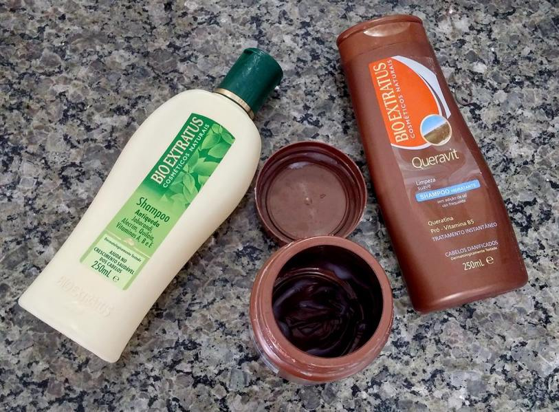 Embalagens vazias produtos Bio Extratus