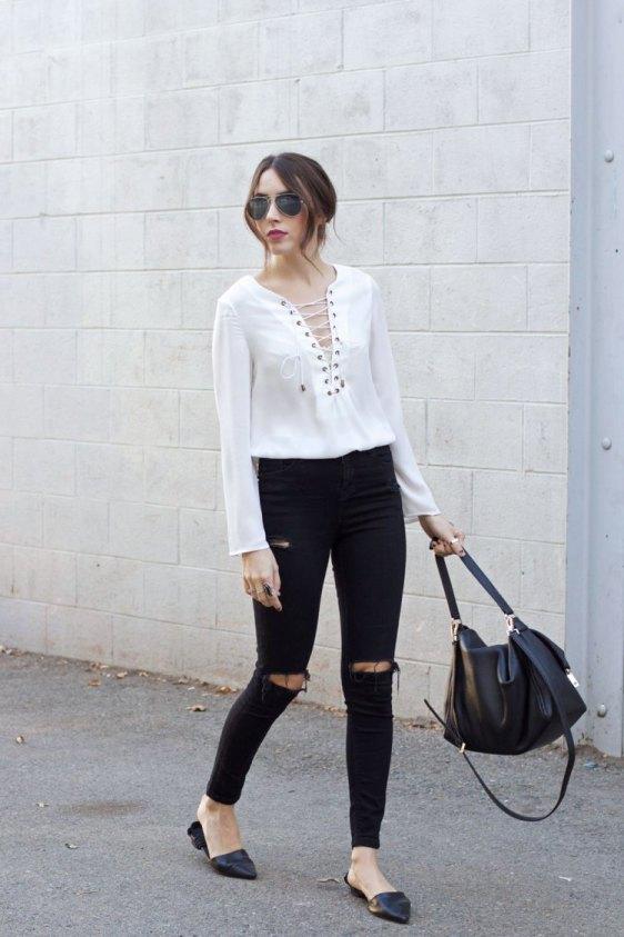 lace-up-blusa